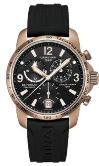 DS Podium Chronograph GMT Aluminium